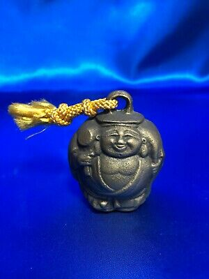 Japanese Antique Lucky charm Daikokuten Metal bell With tracking number Japan