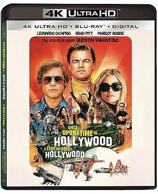 Once upon a Time in Hollywood 4K ULTRA HD BLU-RAY SLIPCOVER PRE-SALE SHIPS 12/10