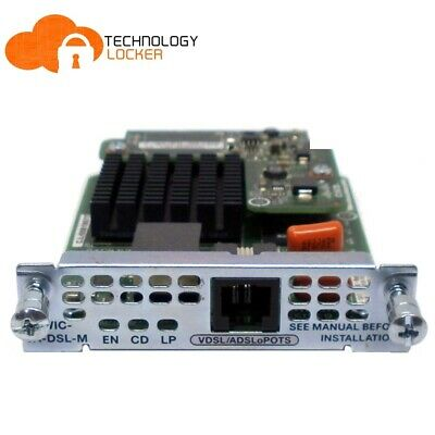 CISCO EHWIC-VA-DSL-M VDSL2/ADSL2 1-Port High-Speed WAN Interface Card