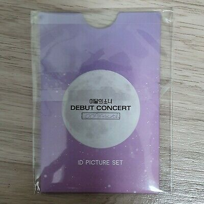 ID Picture Set Loona Debut Concert Official MD Monthly Girls Kpop (Sealed)