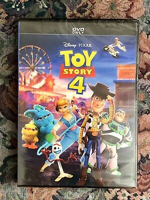 Toy Story 4 DVD Only Brand New Free Shipping Disney Pixar