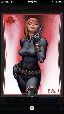 Topps Marvel Collect Digital Card - Black Widow Showcase Award