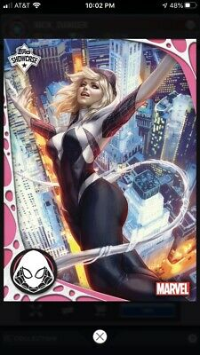 Topps Marvel Collect Digital Card - Ghost Spider Gwen Showcase Award