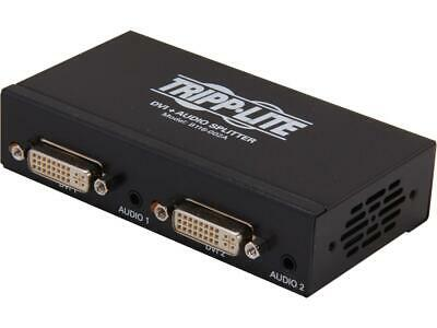 Tripplite DVI + Audio Splitter 2 Port New In Open Box