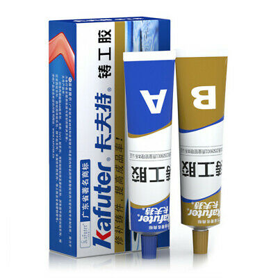 Metal Repair Paste A&B Industrial Heat Resistance Cold Weld Scratch Repair f5d
