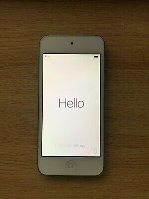 Apple iPod Touch 5th Generation Blue (16 GB) fair condition no cracks on screen.