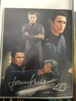 Star TRek hand signed autograph Dominic Keating As Lt Reed