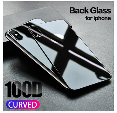 Screen Protector Back Rear Tempered Glass for iPhone X XS XS Max XR 7 8 Plus