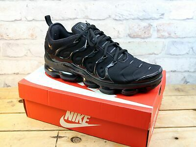 Mens Nike Air Vapormax Plus Black Fitness Sports Gym Trainers Size 11 Rrp £170