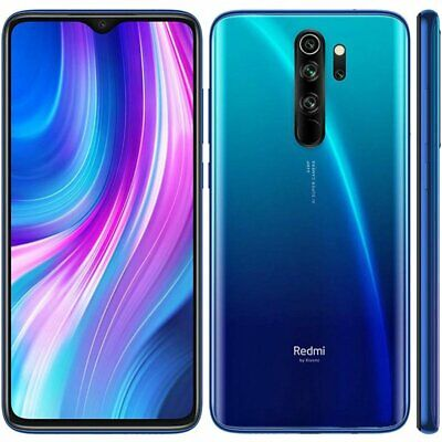 Smartphone Xiaomi redmi Note 8 Pro 128GB DUAL SIM BLU BLUE VERSIONE GLOBAL