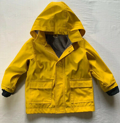 Petit Bateau Raincoat In Classic Yellow - Kids 24m/2y/86cm