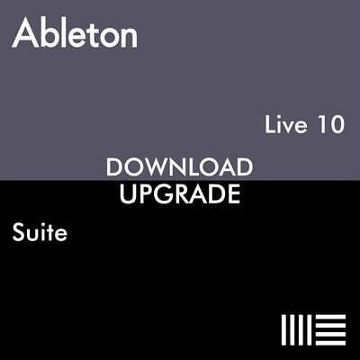 Ableton Live 10 Suite Upgrade from Live 10 Lite Download