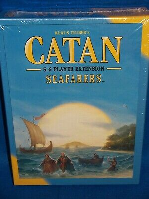 Settlers of Catan Seafarers 5-6 player extension board game expansion NIB