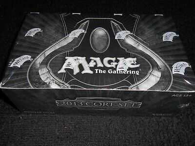 MTG Magic ENGLISH Factory SEALED Core Set 2013 booster box, New! M13 36 Packs.