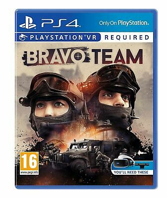 Bravo Team PSVR PS4 PlayStation 4 Game Brand New Sealed Official