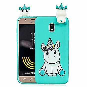Samsung J3 V 2018 TPU Case, 3D Animal Candy Color Ultra Thin Soft Silicone Phone