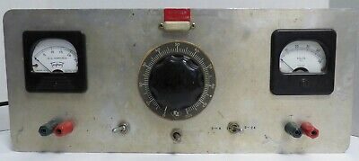 Vintage Unbranded Power Supply Amps & Volts 0-24Volts