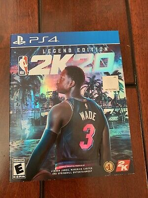 New sealed NBA 2K20 Legend Edition Basketball for PlayStation 4 PS4 And Bonus