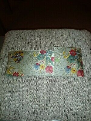 Vintage Travel Hangers in floral pouch