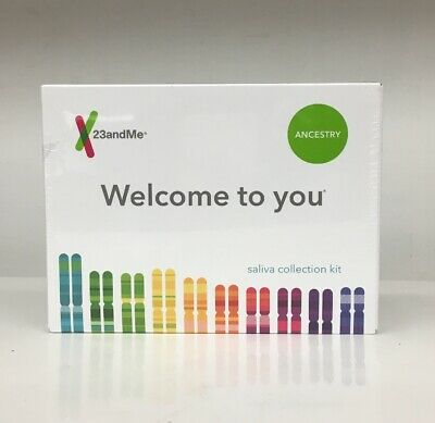 23andMe Ancestry Saliva Collection Kit Brand New Ships Free