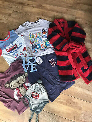 Bundle Of Boys Clothes 4-5yrs Next / Monsoon /M&S Fab Bargain👍