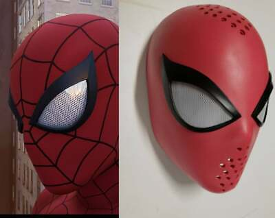 Faceshell ' Spider-Man - Insomniac Games-Classic Version-with lenses (free fog)