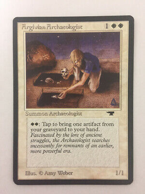 MTG Magic The Gathering Argivian Archaeologist - Antiquities