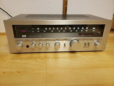 Sansui R-30 Reciever Tested Working