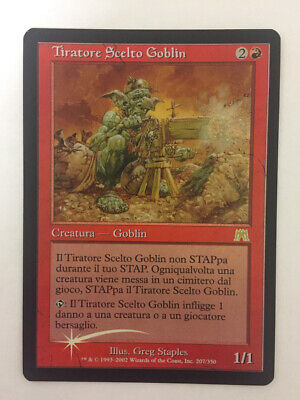 MTG Magic The Gathering Goblin Sharpshooter - FOIL