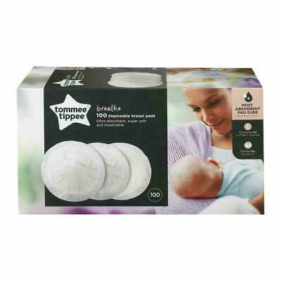 Tommee Tippee 100 Disposable Breathable Breast Pads