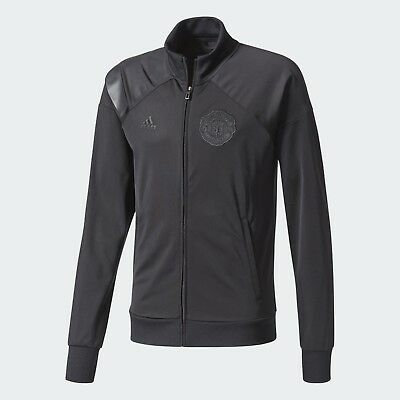 Men's Adidas Manchester United Track Jacket Size: Small Color: Black