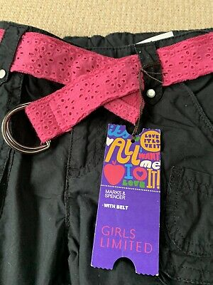 Marks And Spencers Girls Trousers Age 10 BNWT