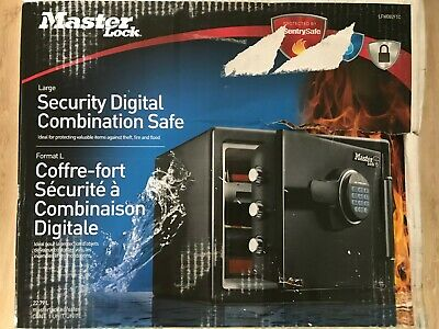 Master Lock LFW082FTC Large Fireproof & waterproof security safe - New, Sealed