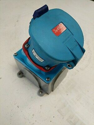 Meltric 33-64243-C-K04 Receptacle / Connector Ds100C 100A 20Hp 480Vac