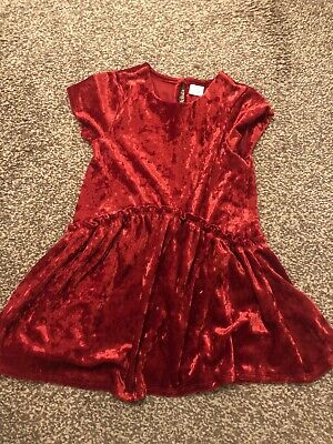 Gorgeous Girls Next Dress Red Velvet Age 4 Christmas Party