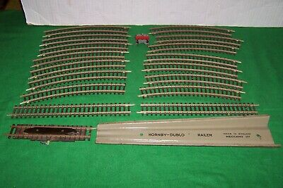 Job Lot of Hornby Dublo 2 Rail Track, buffer stop and Re-railer.