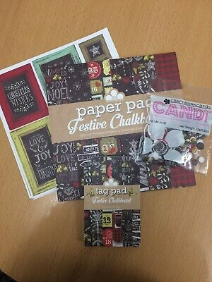 Craftwork Cards Festive Chalkboard, Paper, Tags & Candi