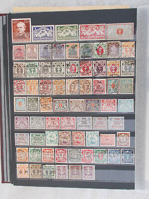 DEUTSCHES REICH DANZIG good coll. 96 stamps all diff. - 2 scans # Lot 4014