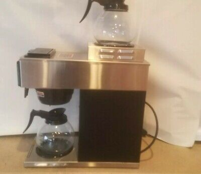 Bunn 13300.0002 Vp17-2 Ss Pourover Coffee Brewer With 2 Warmers