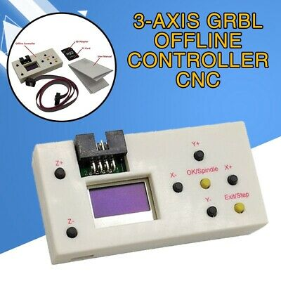 3 Axis GRBL Offline Controller CNC for CNC 3018PRO 1610/2418/3018 1.8 inch LCD