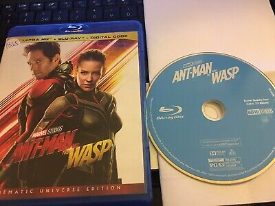 Ant-Man and the Wasp  2018 (Blu-ray Only Movie