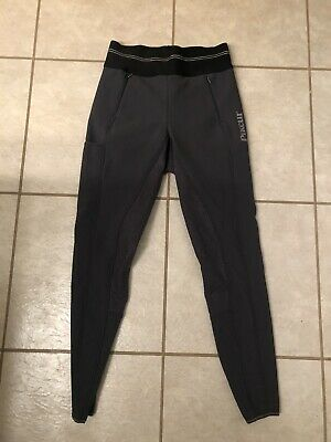 NWOT Grey Pikeur Gia Grip Athleisure Fullseat Winter Lined Breeches 32L.