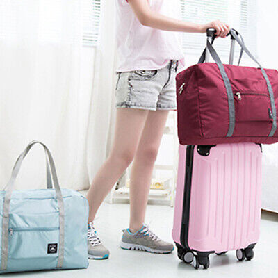 Portable Foldable Travel Luggage Baggage Storage Carry-On Duffle Bag Newly