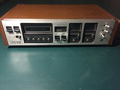 Vintage Wollensak 3M 8055 Eight Track Stereo Recorder