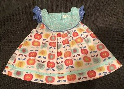 MATILDA JANE Friends Forever Lucia Shabby Apple Flutter Top Size 4 VGUC