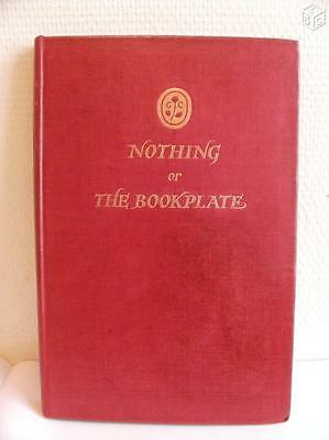 Recueil d'ex libris -Nothing Or The Bookplate-