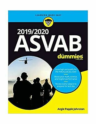 2019 / 2020 ASVAB For Dummies Angie Papple Johnston Learning Made Easy