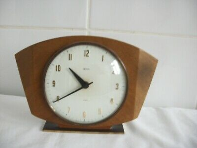 Mantle Clock. Smiths 8 Day Floating Balance.