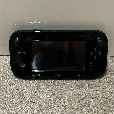 Nintendo Wii U - Black Gamepad - WUP-010 (EUR) Fully Working - Condition 8/10