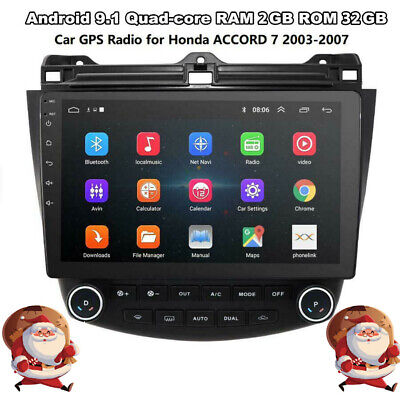 "For 03-07 Honda Accord 10.1"" Android9.1 Radio Stereo Player Quad-Core GPS Player"